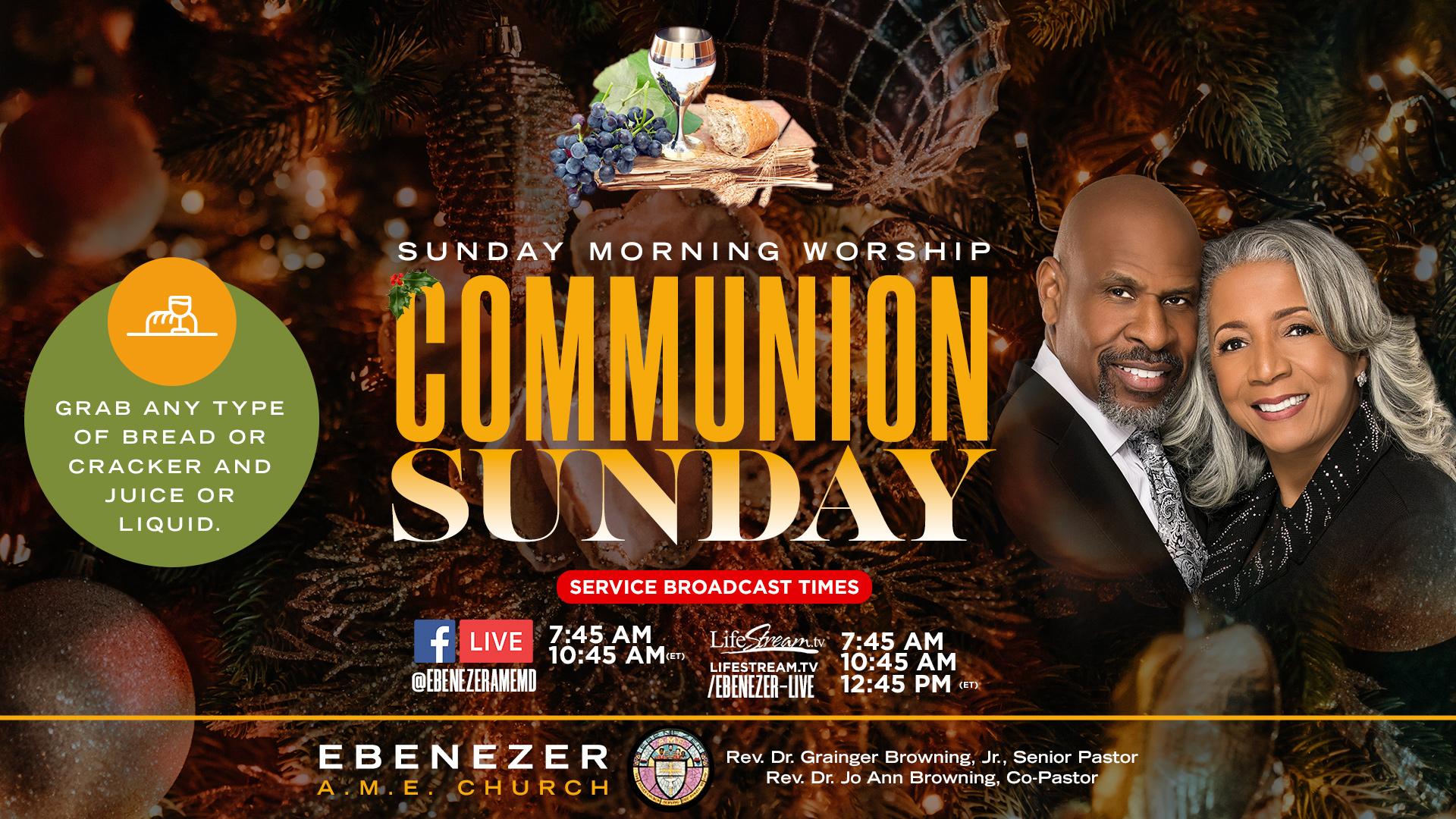 Communion Sunday December