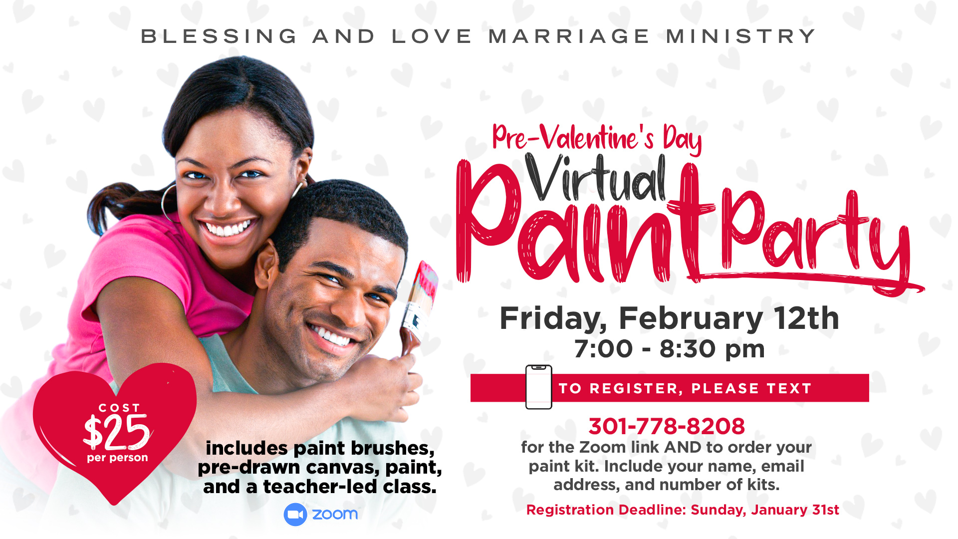 Couples Virtual Paint Party