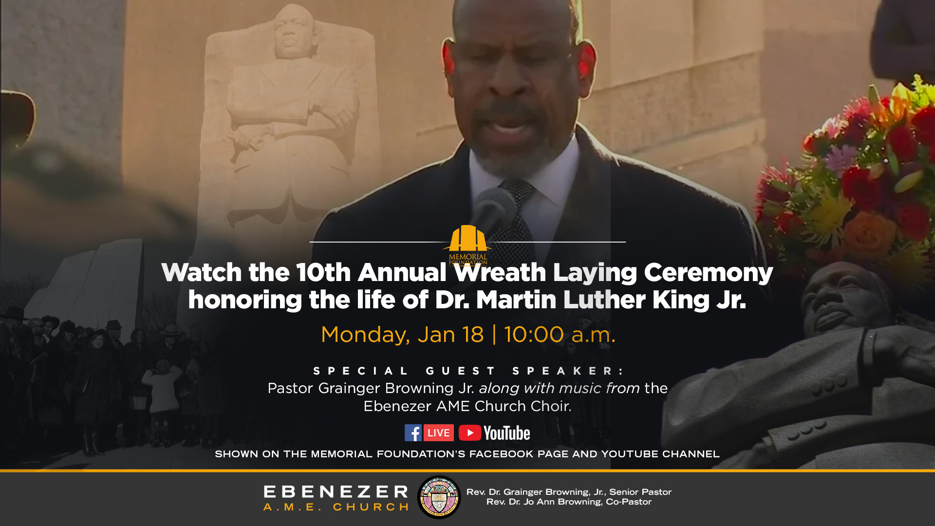 Grainger Browning MLK Memorial Service