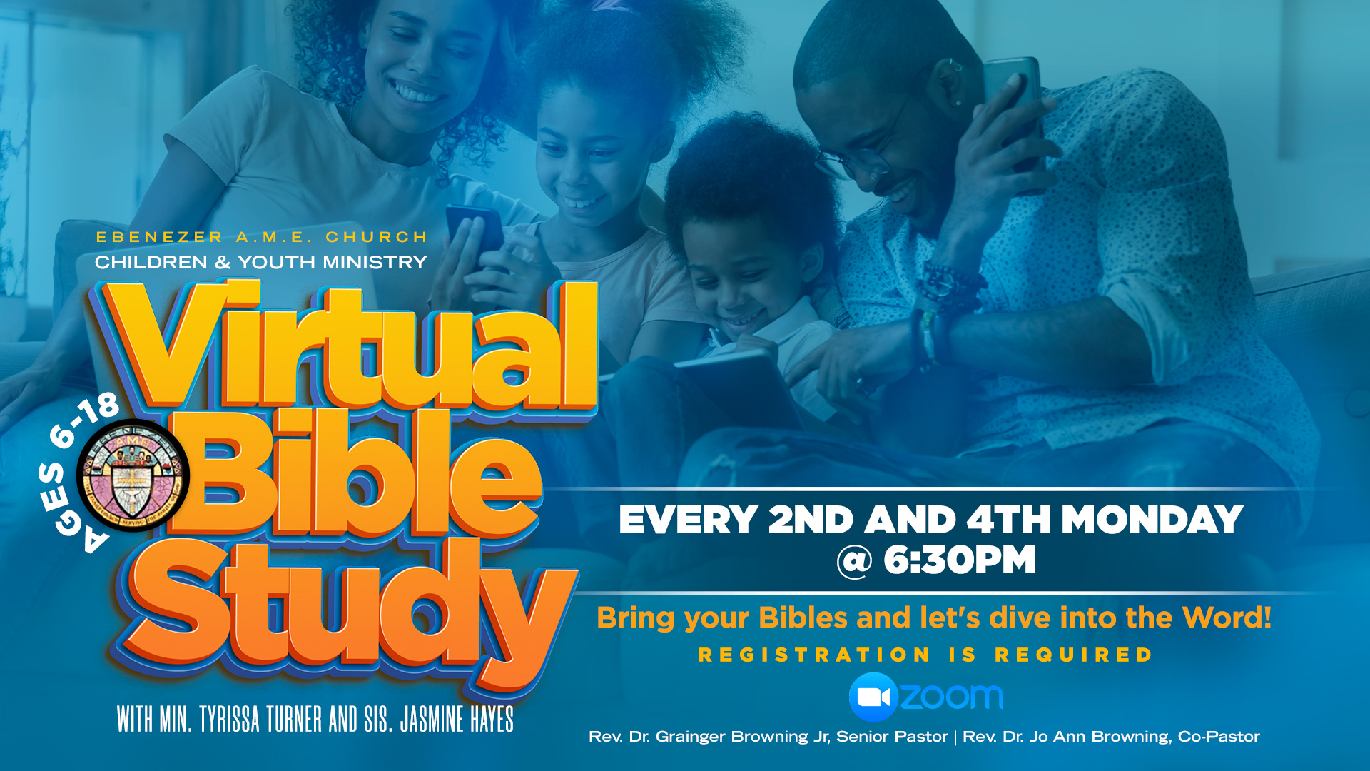 Children and Youth Bible study