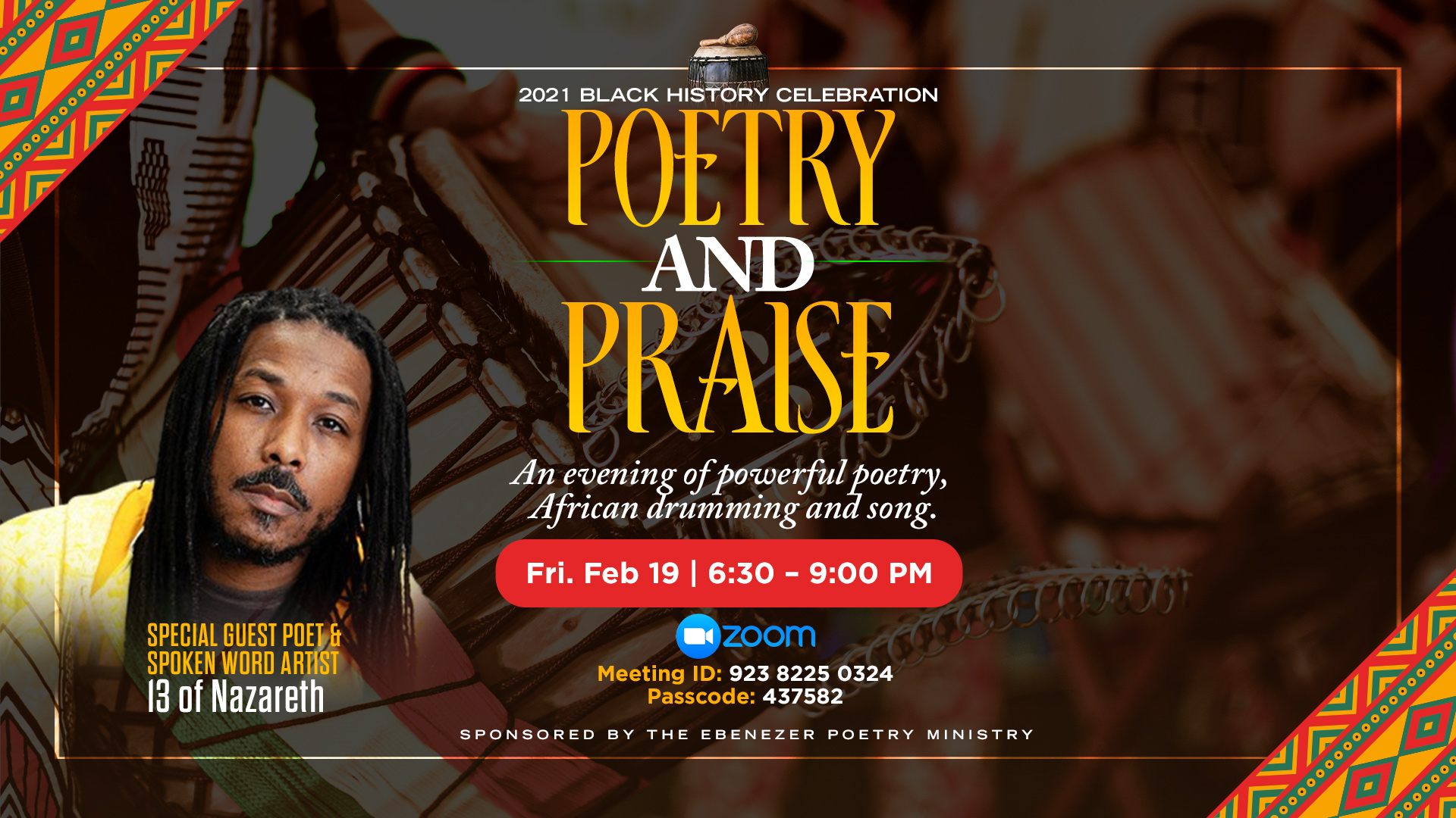 Poetry and Praise Black History