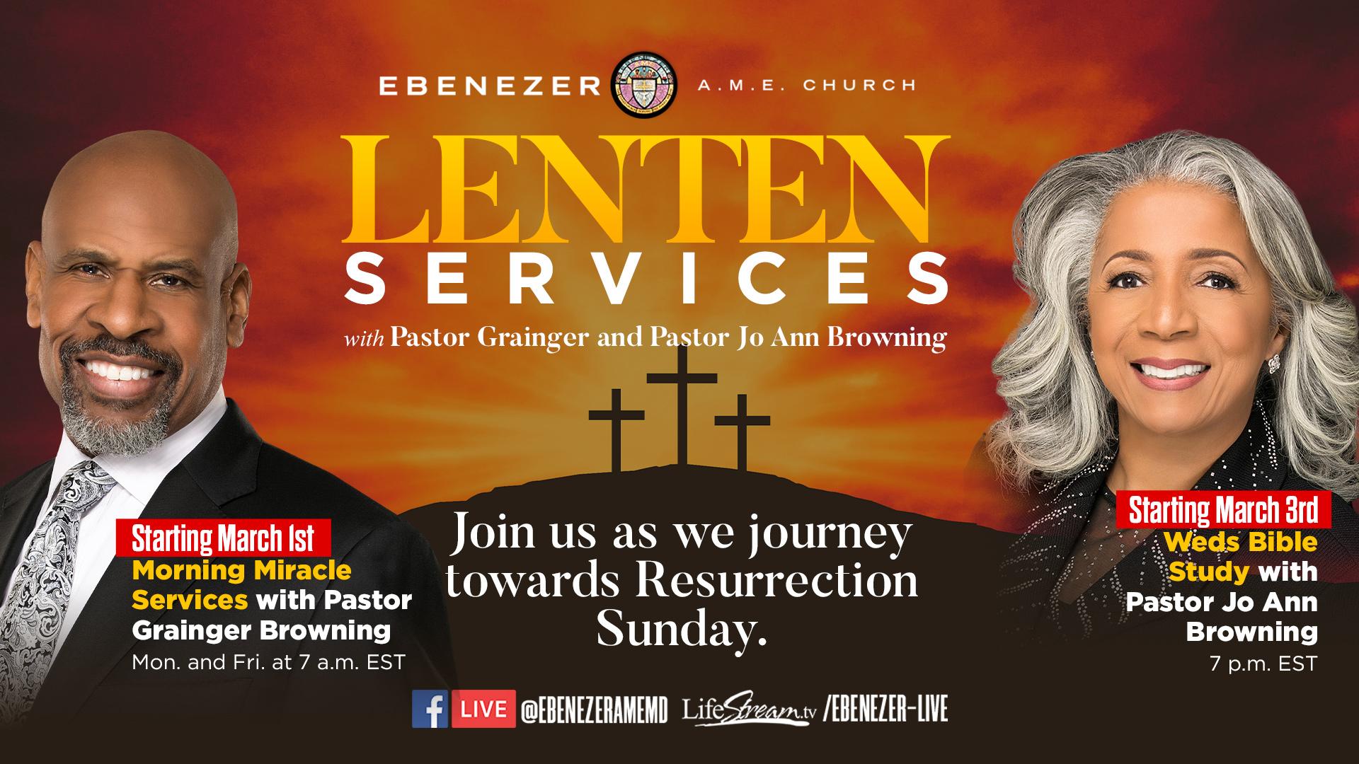 Lenten Services 2021