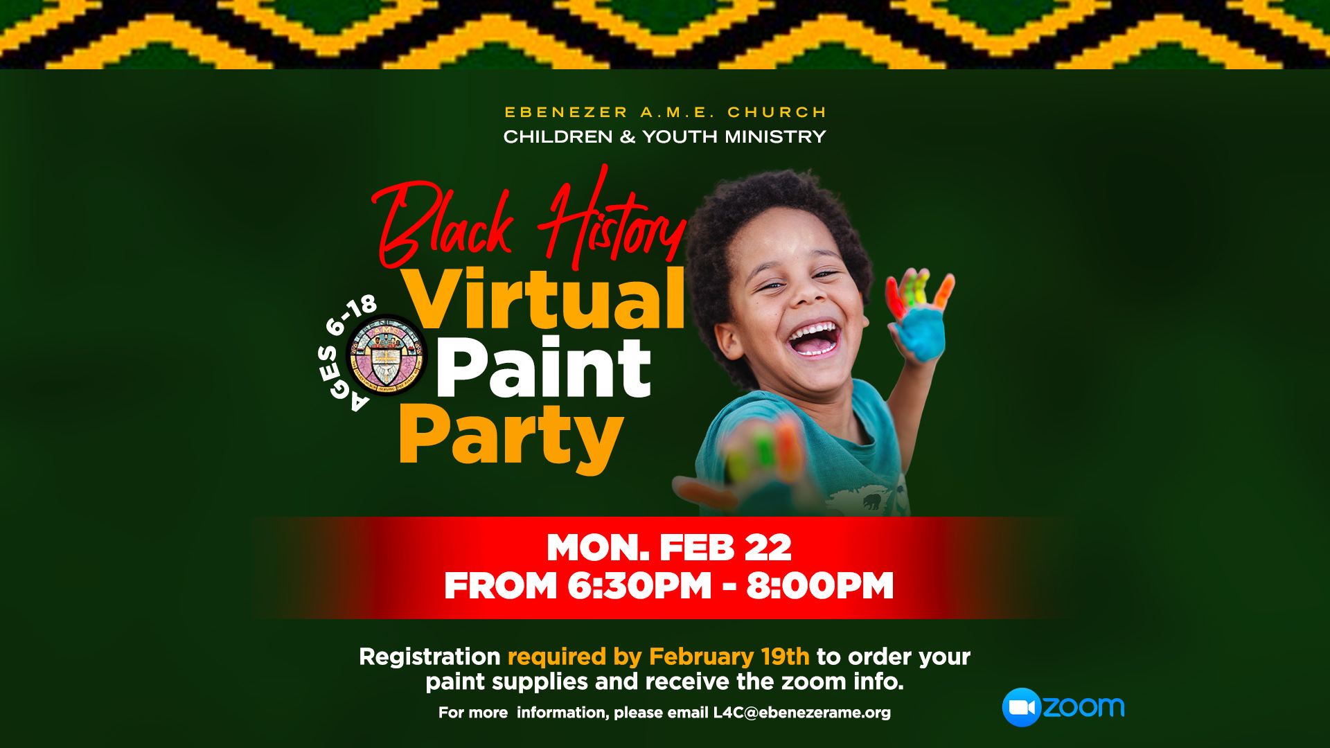 Children and Youth Paint Party