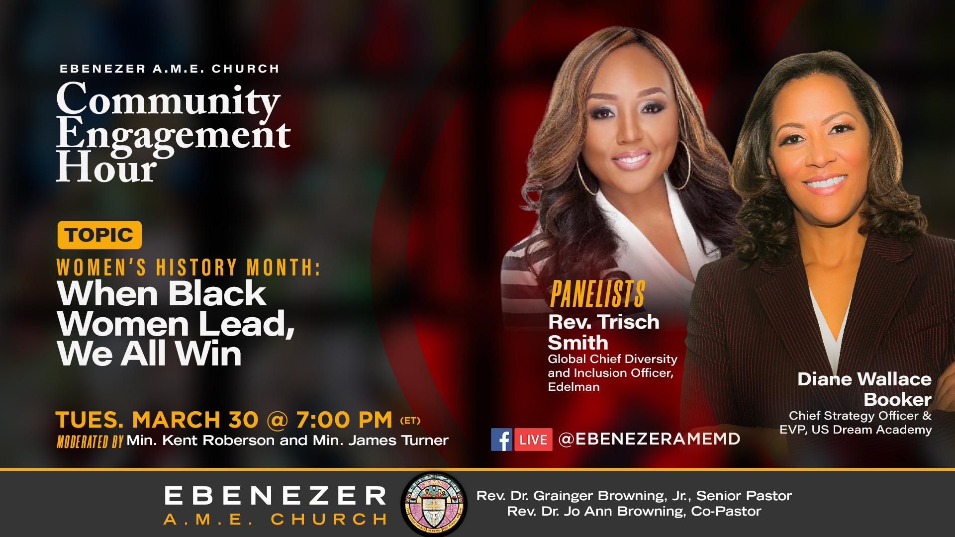 March 30 Community Forum