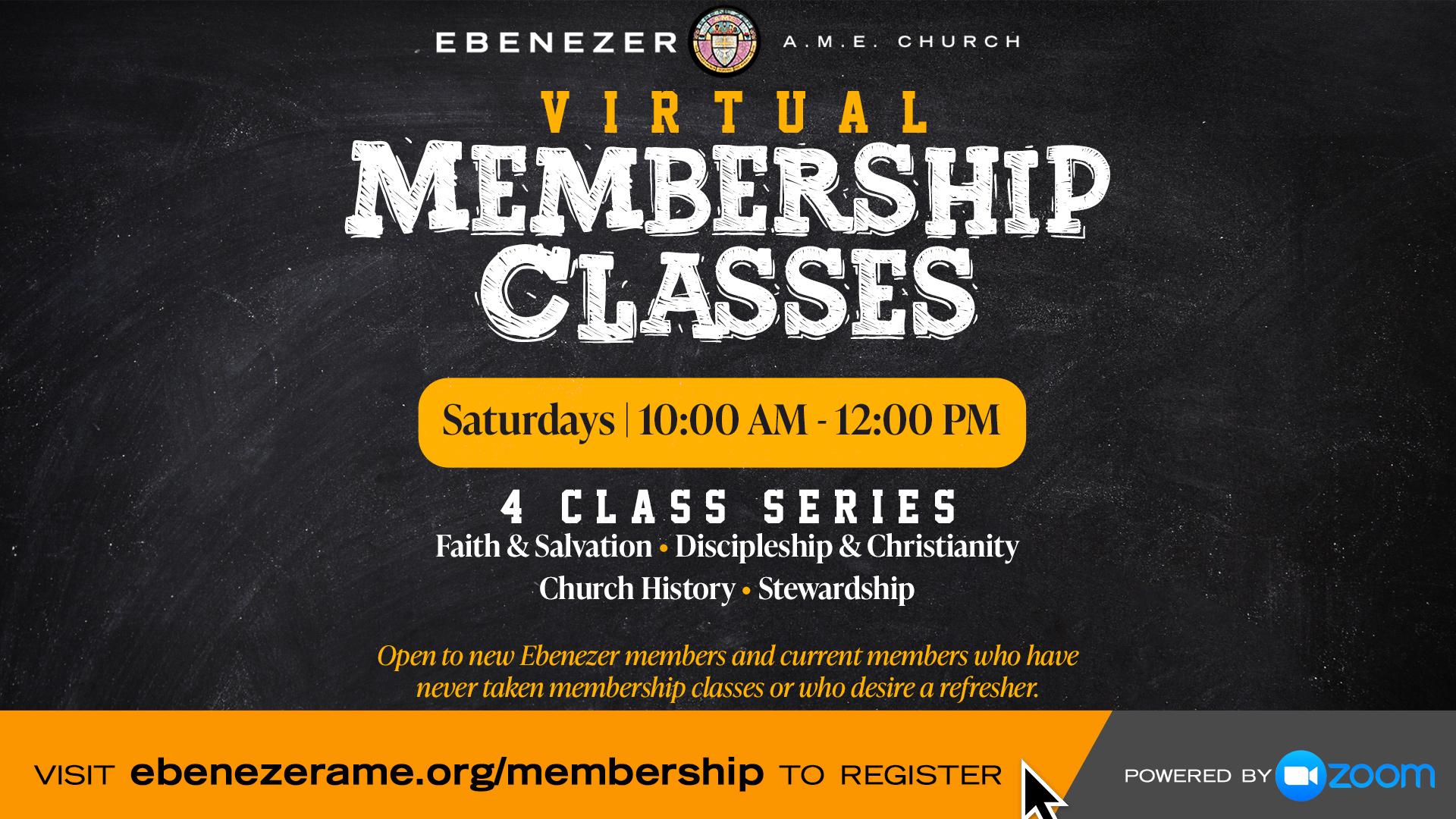 Online Membership Classes