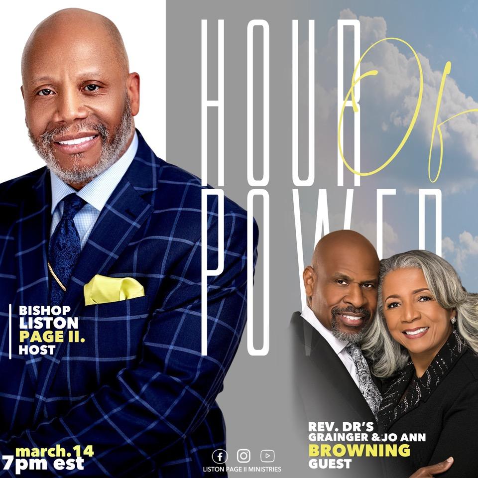 Pastors Liston Page Ministries Live