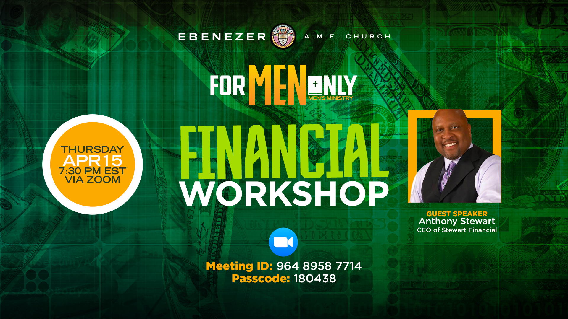 Men's Financial Workshop