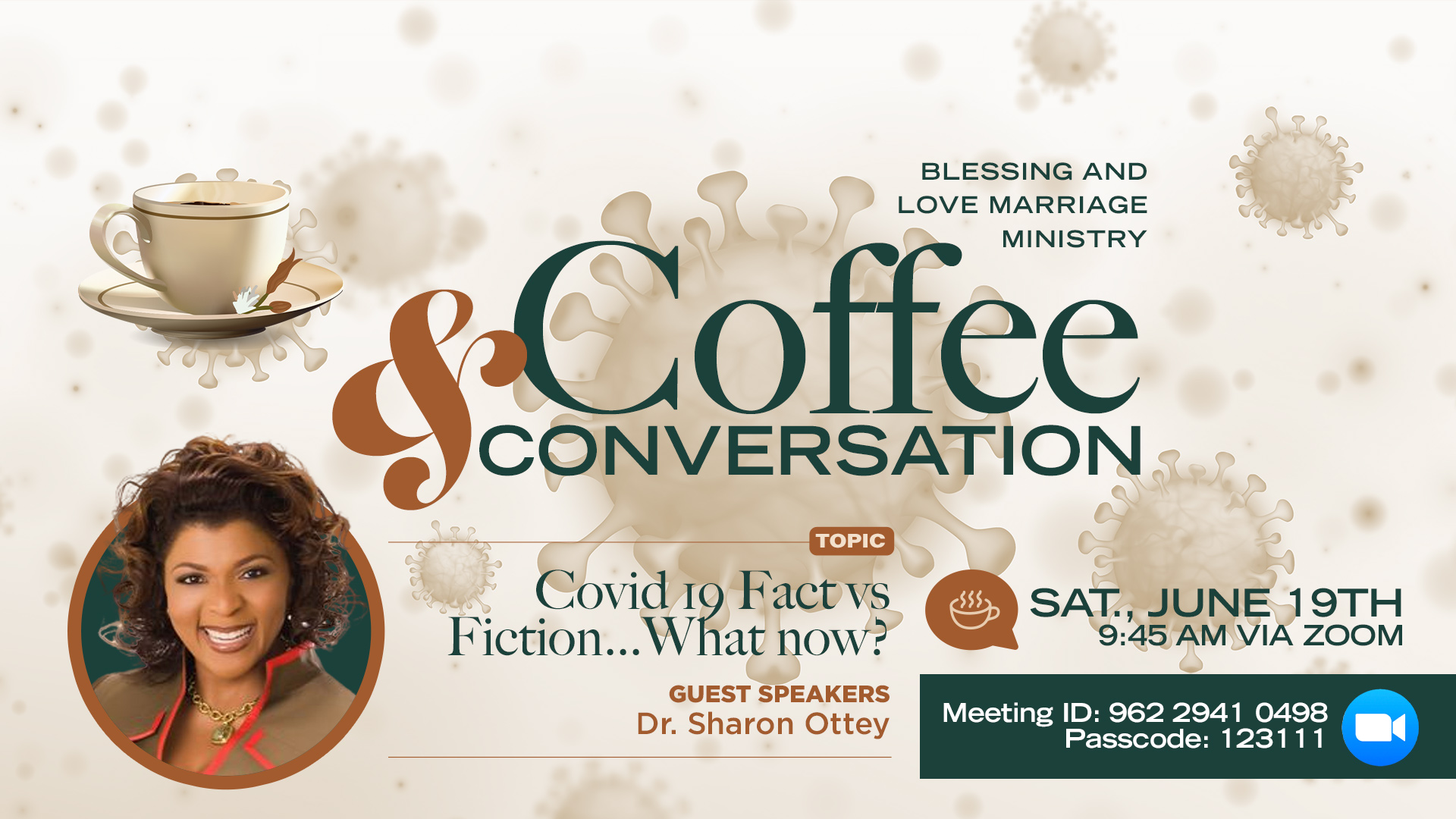 Coffee and Conversation (COVID)
