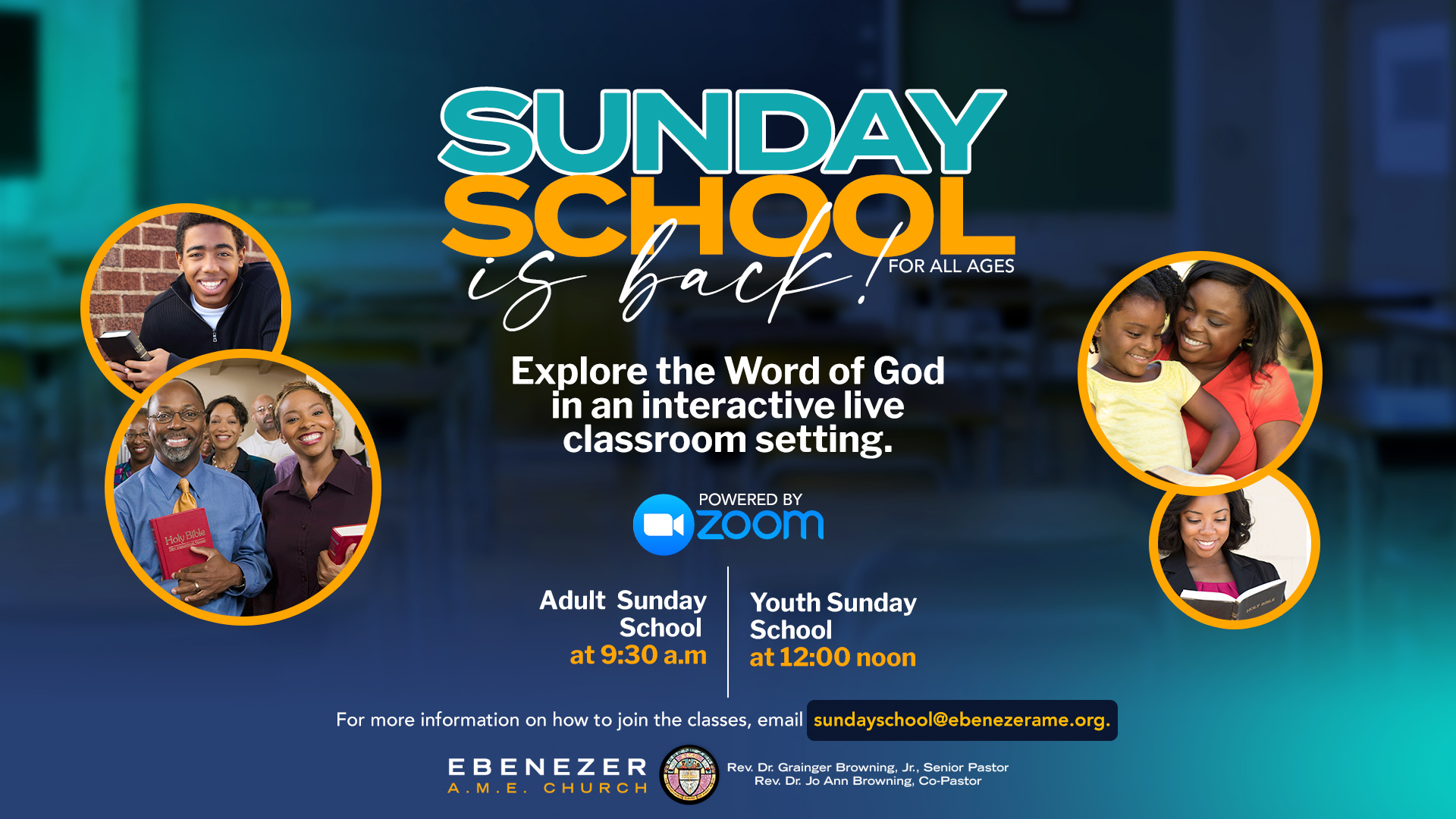 Sunday School is Back