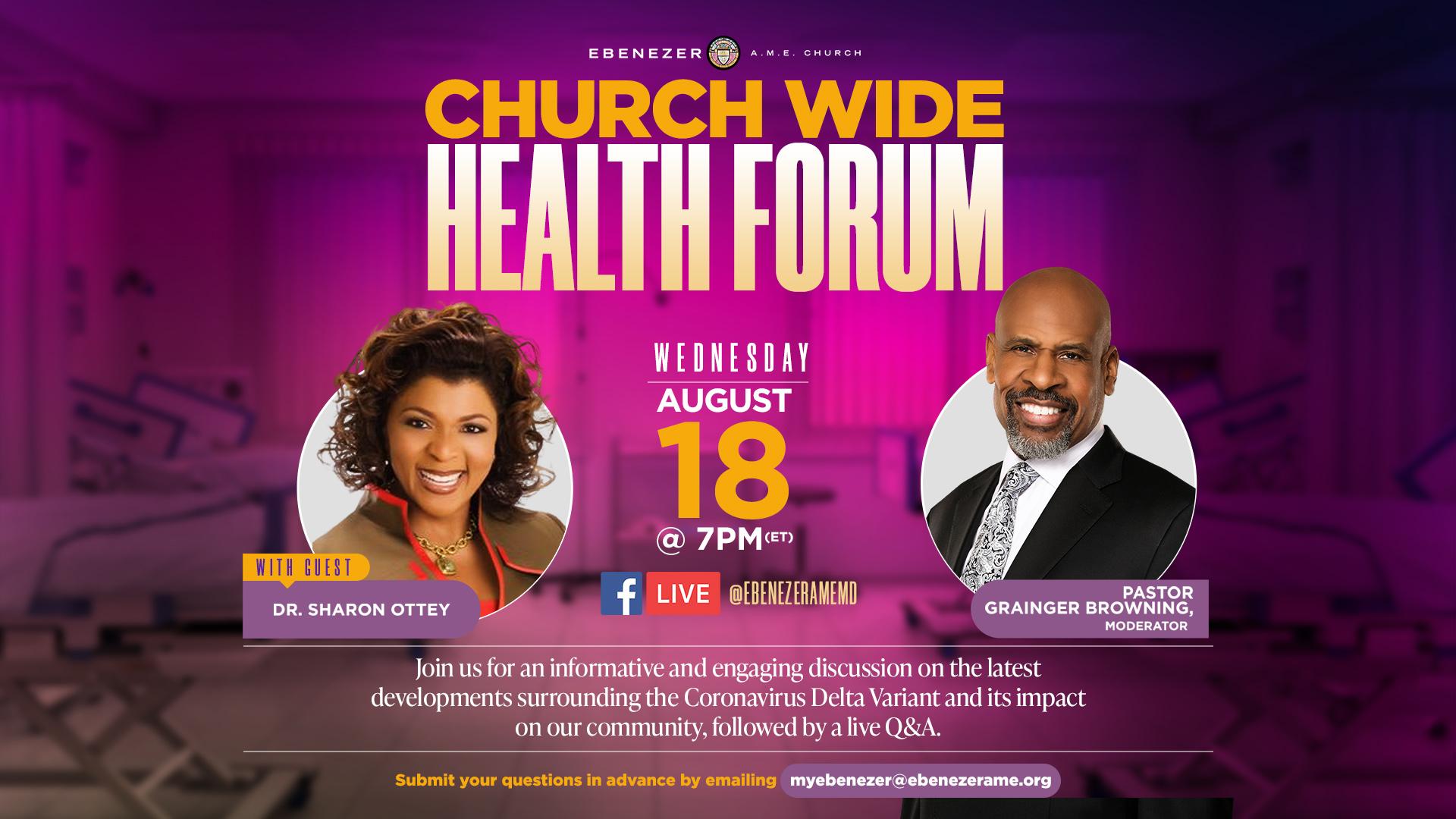 Churchwide COVID Health Forum